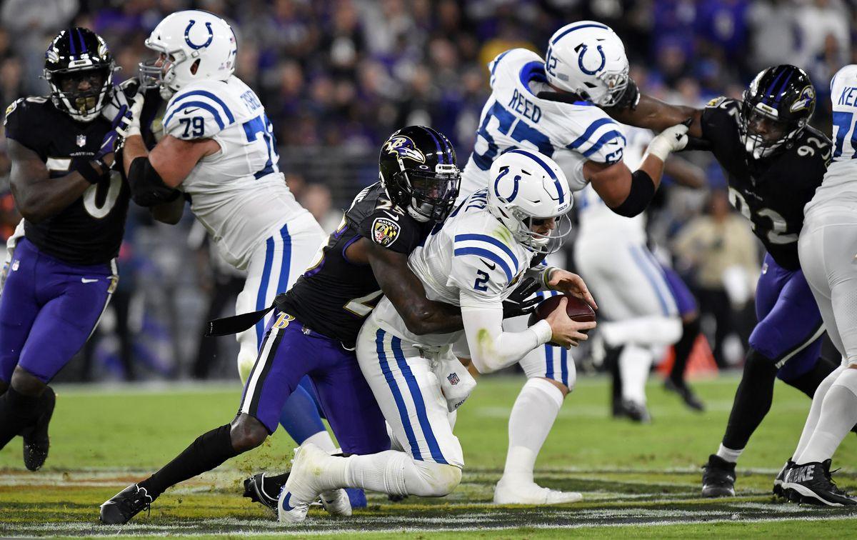 NFL: OCT 11 Colts at Ravens