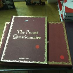 Proust book, $7.50 (was $50)