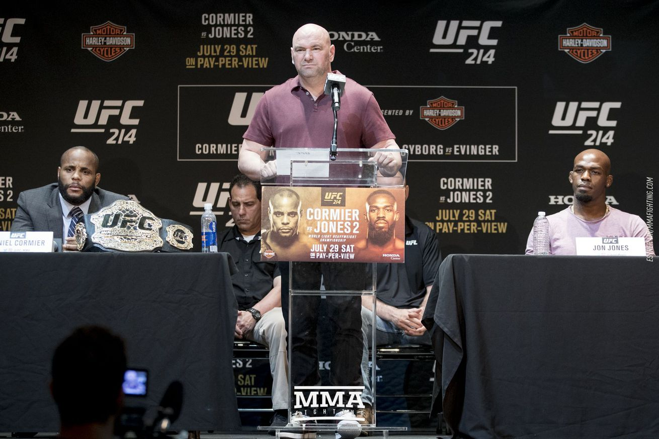 Jones vs. Cormier  2 estimated at doing 860,000 buys