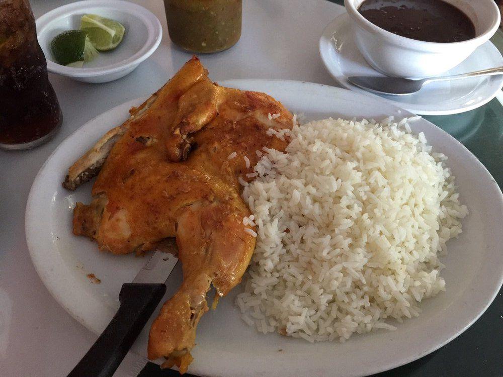 Pollo asado at El Colmao