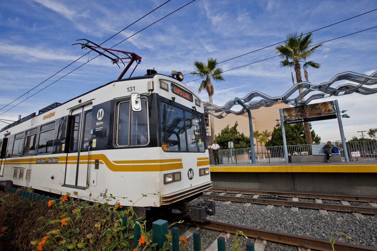 Perfecting Public Transportation 10 Us Cities With Progressive Plans For Train Track Wiring Expo Light Rail Line In Los Angeles Photo By Ted Soqui Corbis Via Getty Images