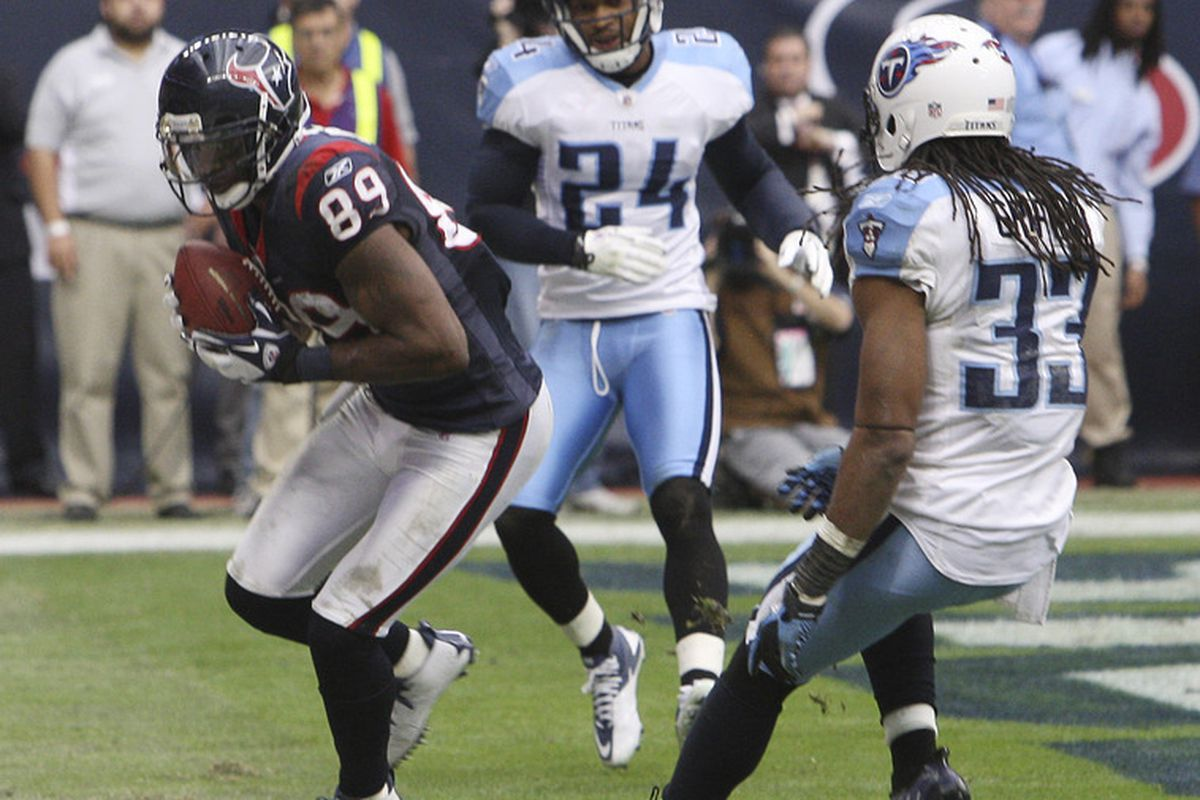 It's kind of fitting that the last play Griff and Hope played as Titans was an easy TD completion.