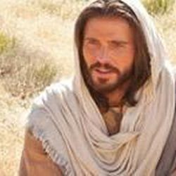 Jesus delivers the Sermon on the Mount in the LDS Church's Bible Videos film series.