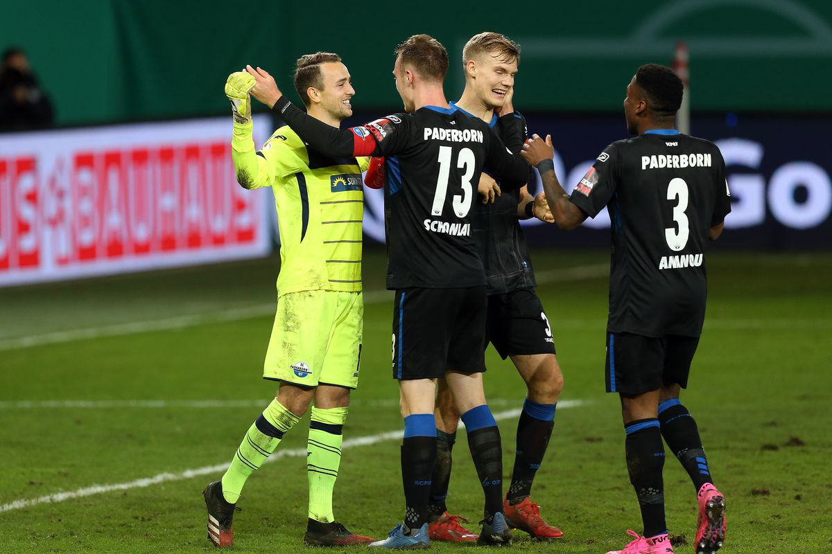 1. FC Union Berlin v SC Paderborn 07 - DFB Cup: Second Round