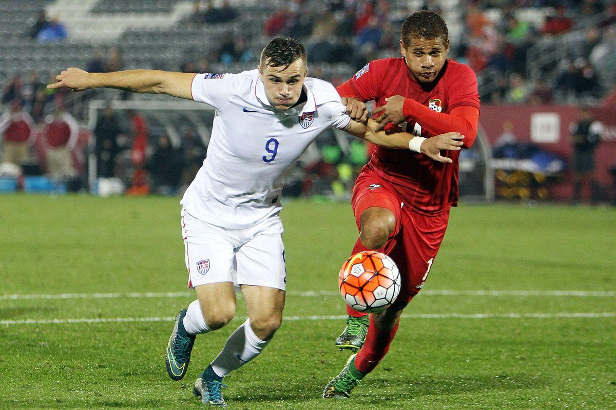 Roberto Chen faced off against Jordan Morris at the U23 level.