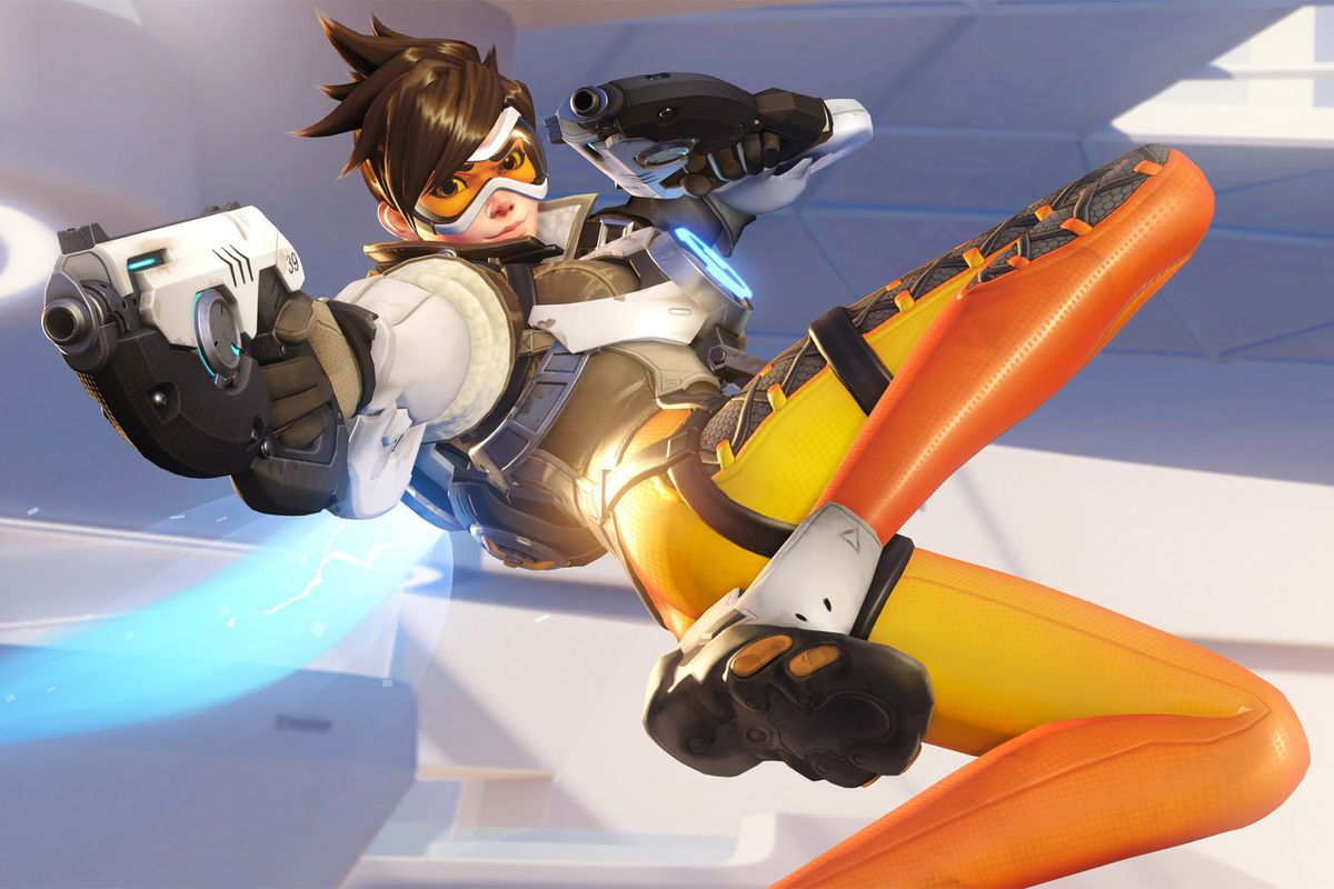 Tracer Christmas Skin.Blizzard Is Removing A Sexualized Pose From Overwatch