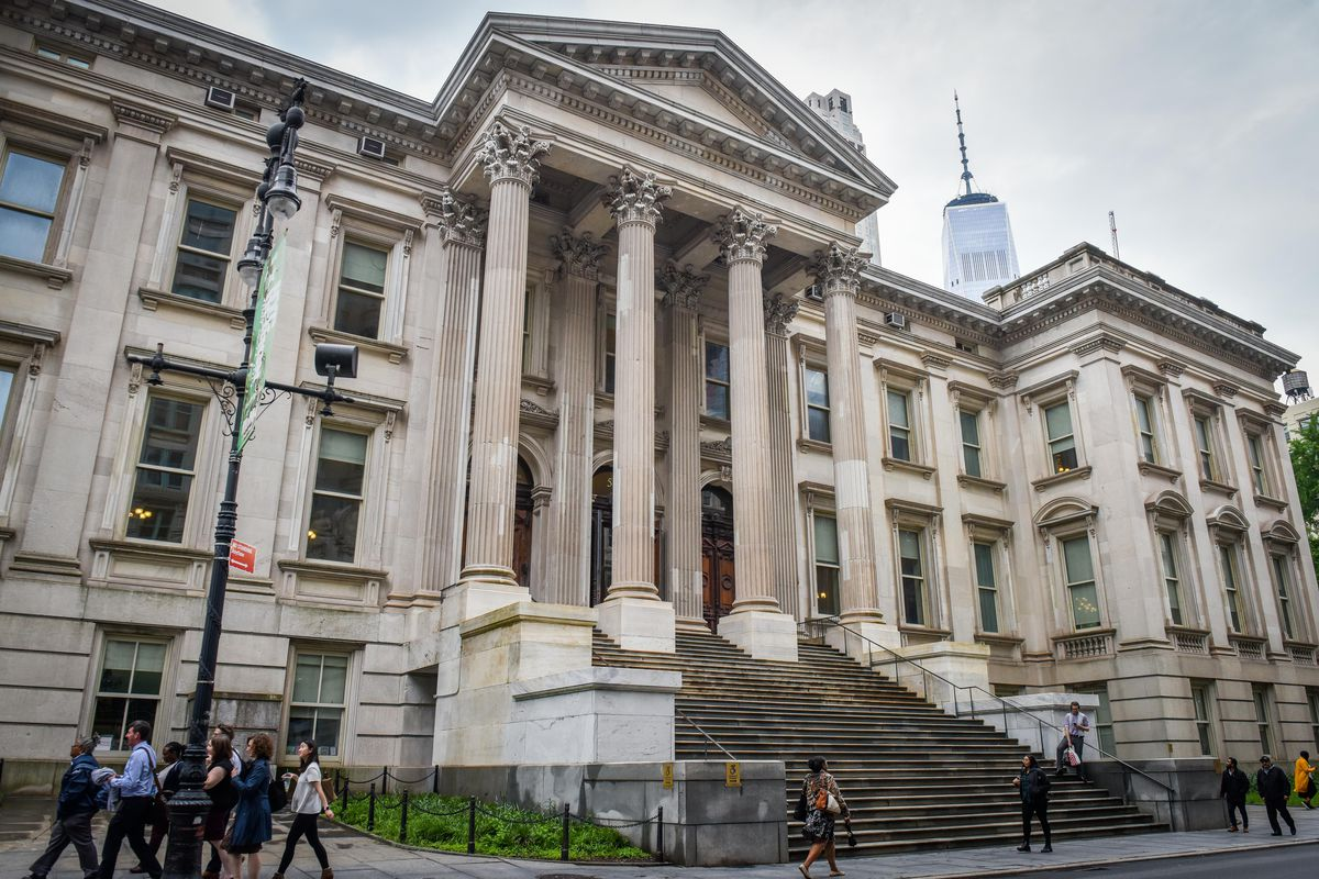 The New York City Department of Education headquarters in Manhattan. The education department reached a settlement agreement with disability rights advocates in the Bronx, resolving a four-year-old lawsuit about special education services.