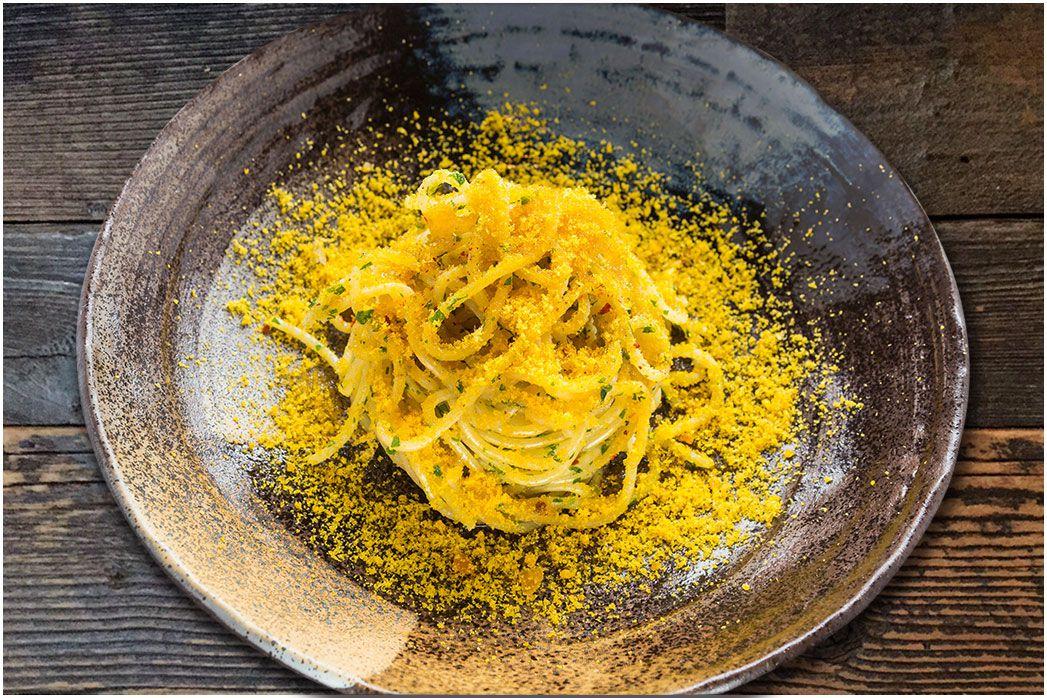 Plate of pasta at La Ciccia