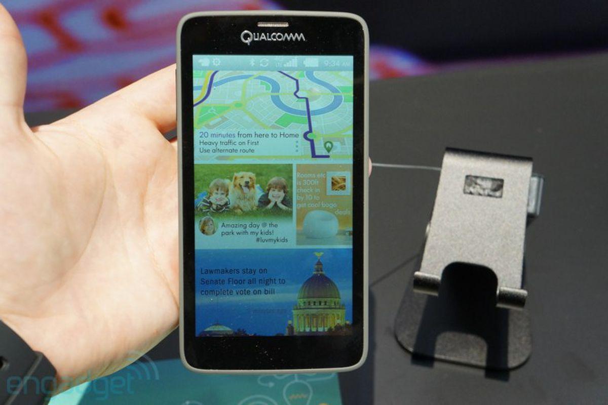 mirasol smartphone (engadget)
