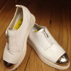 Costume National shoes, $329