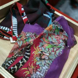 Jungle Love scarf, $153