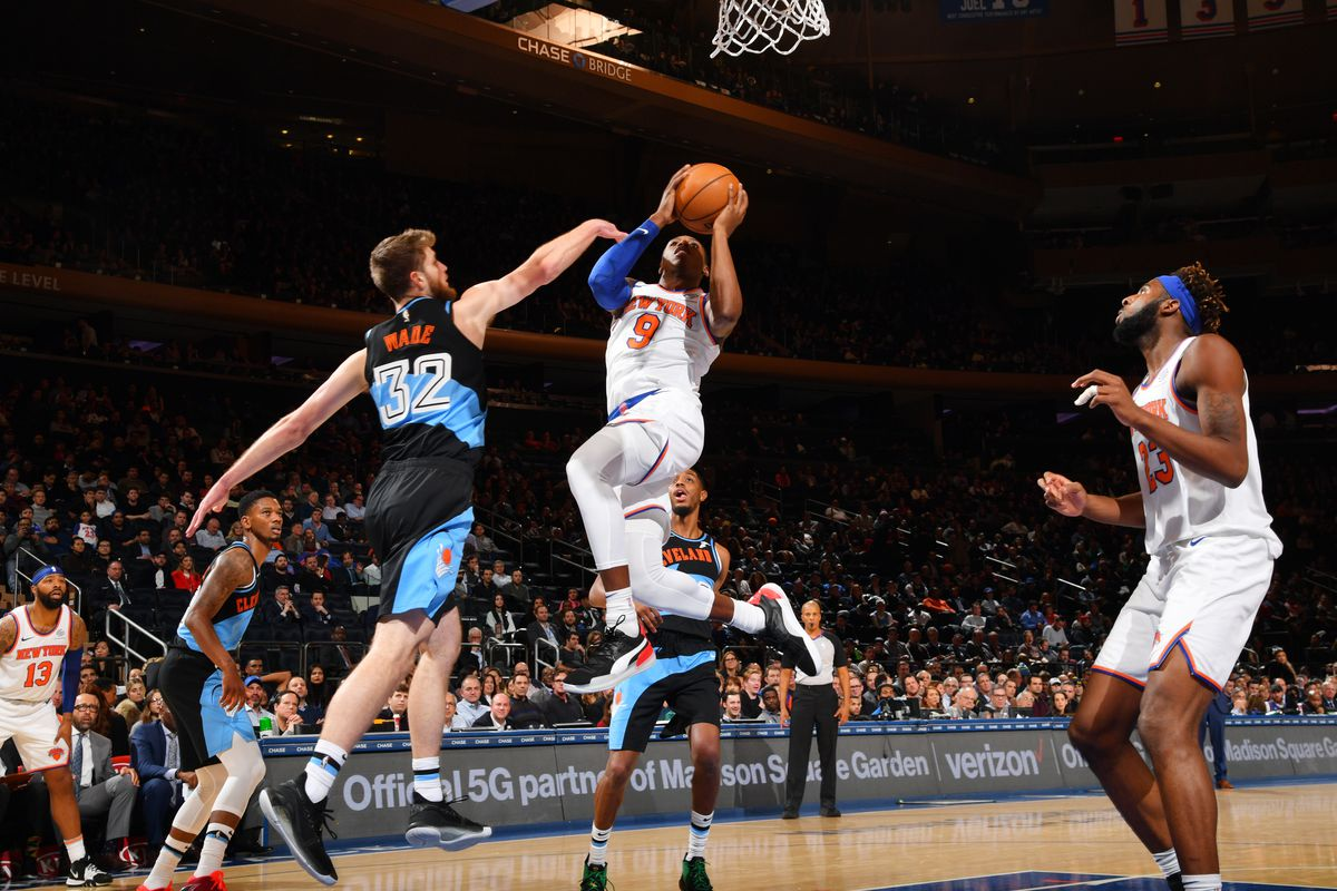 Knicks 123, Cavaliers 105: Scenes from the season's first blowout win