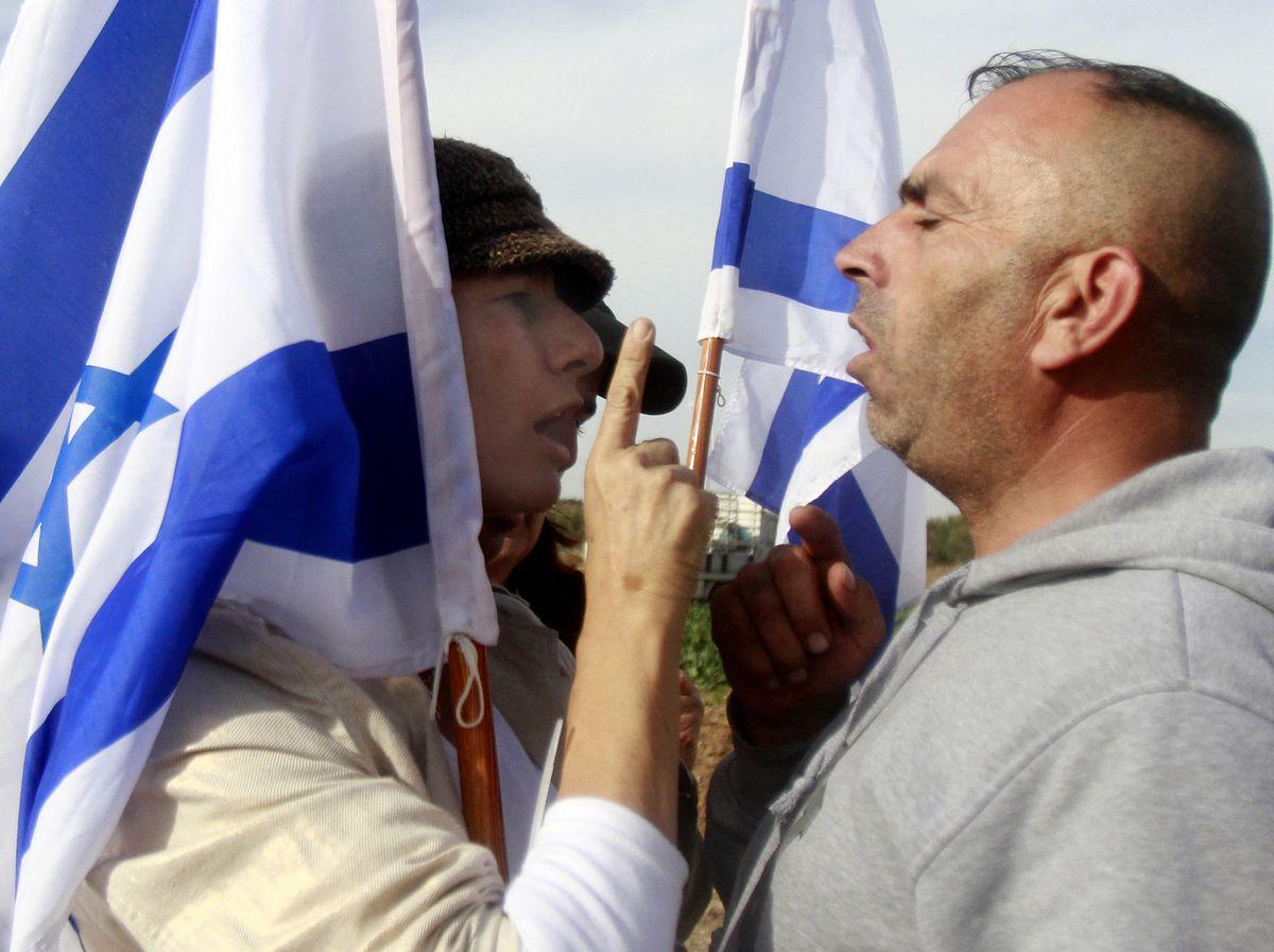 israeli palestinian argument 2 Musa al-Shaer/AFP/Getty Images