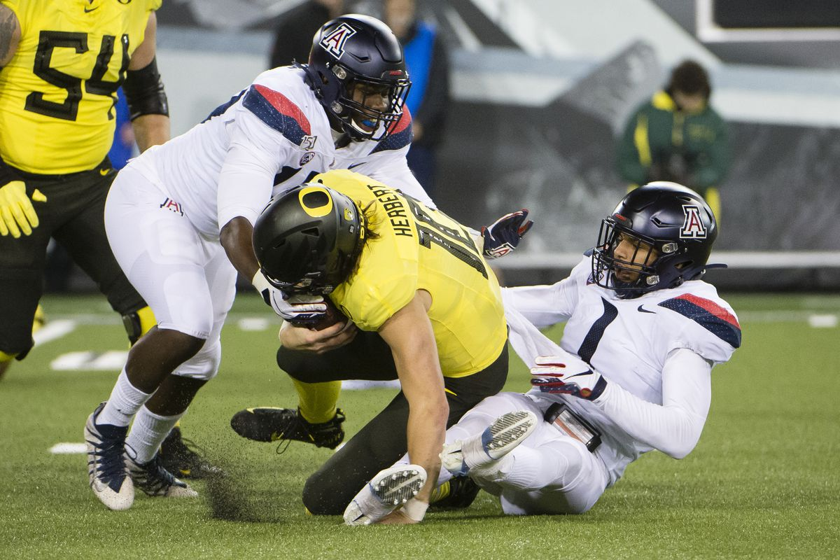 NCAA Football: Arizona at Oregon