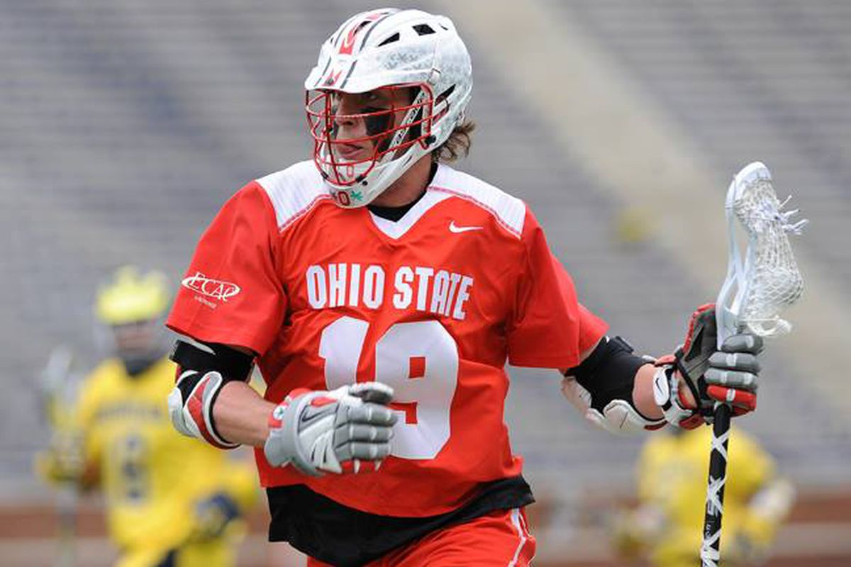 Jesse King led the Buckeyes with five goals and an assist