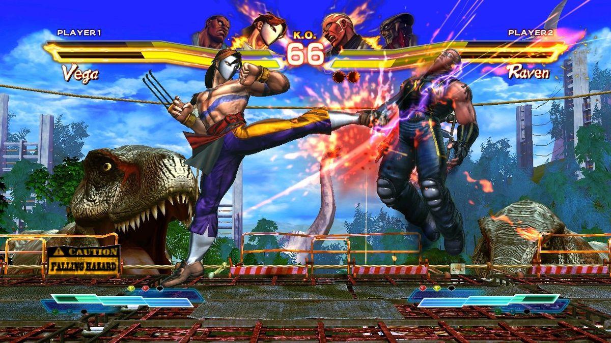 Street Fighter X Tekken Vega Raven screenshot 1280