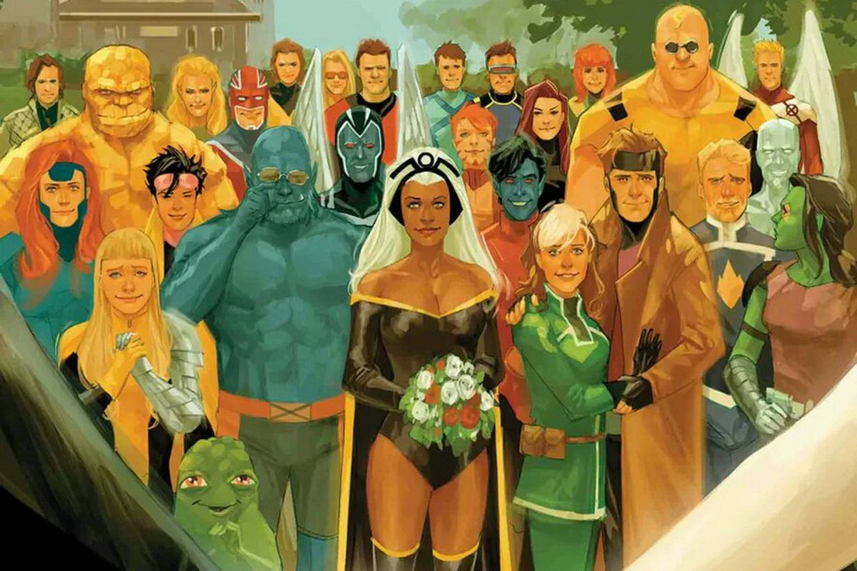 x men gold s big wedding issue had a bigger plot twist polygon