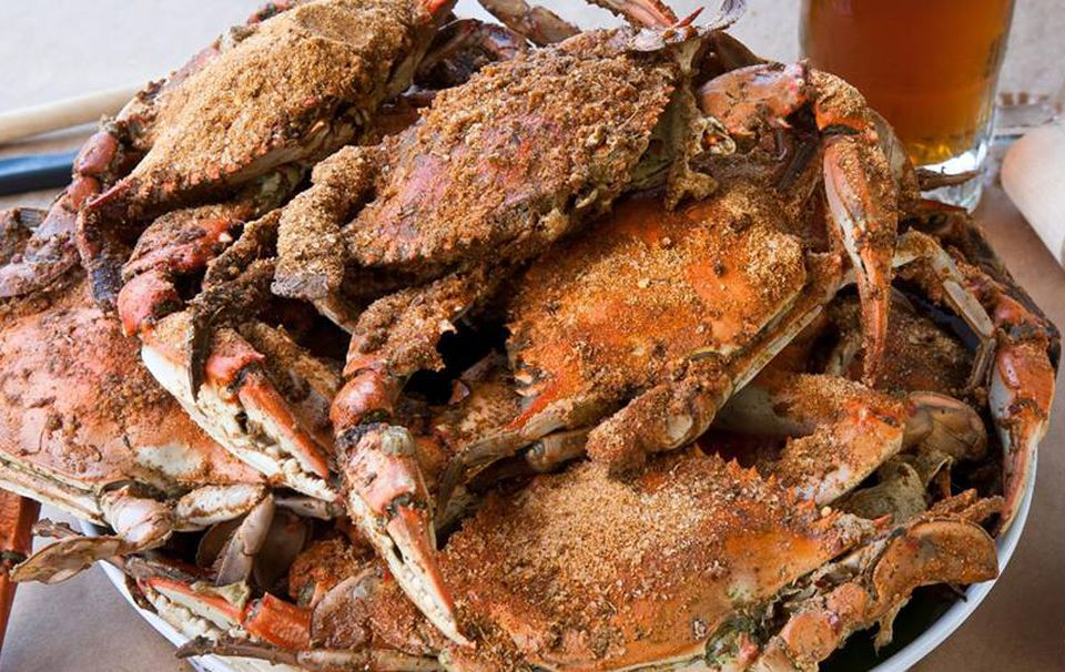 Bethesda Crab House MD crabs