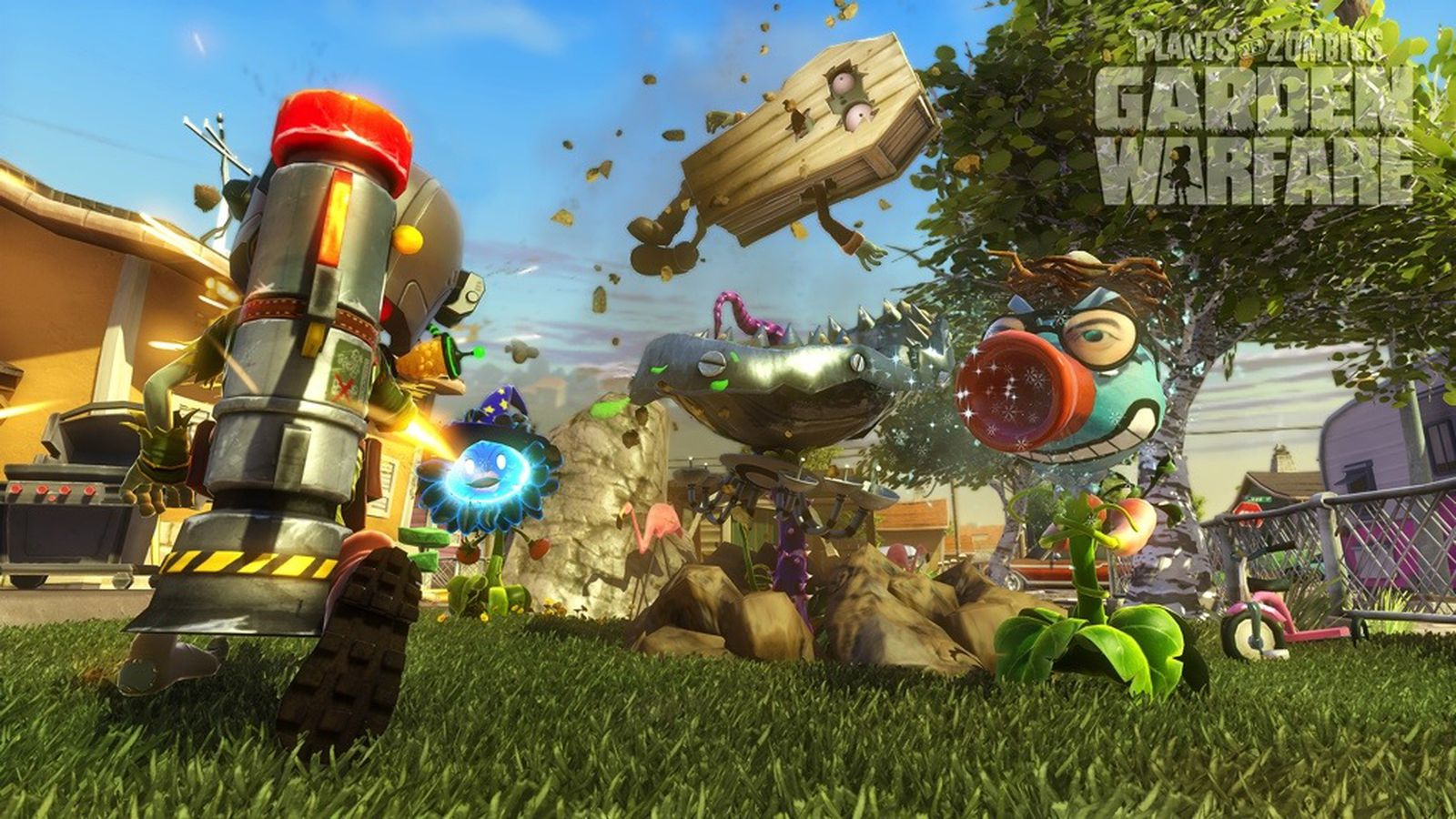 plants vs zombies garden warfare review perfectly prunable the verge - Plants Vs Zombies Garden Warfare Xbox 360