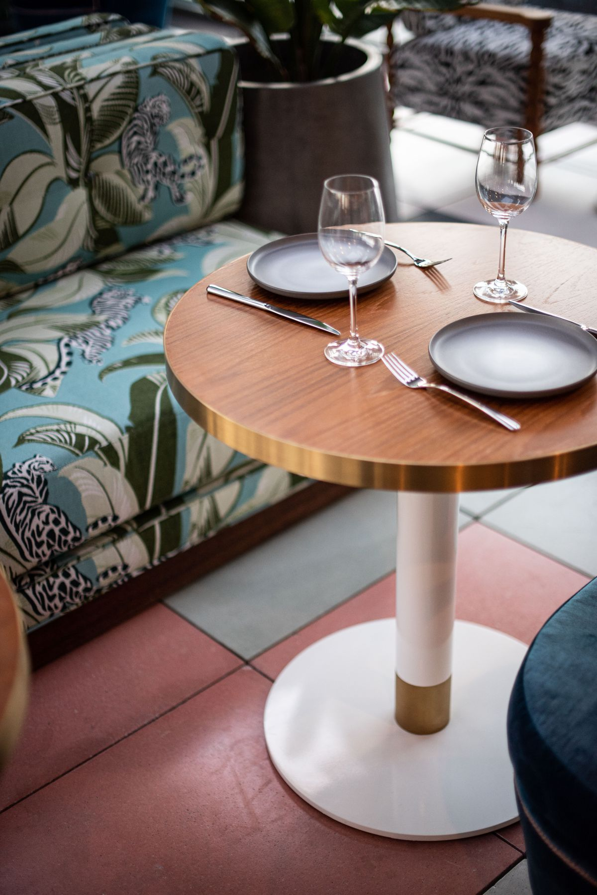 Merois outdoor dining table.