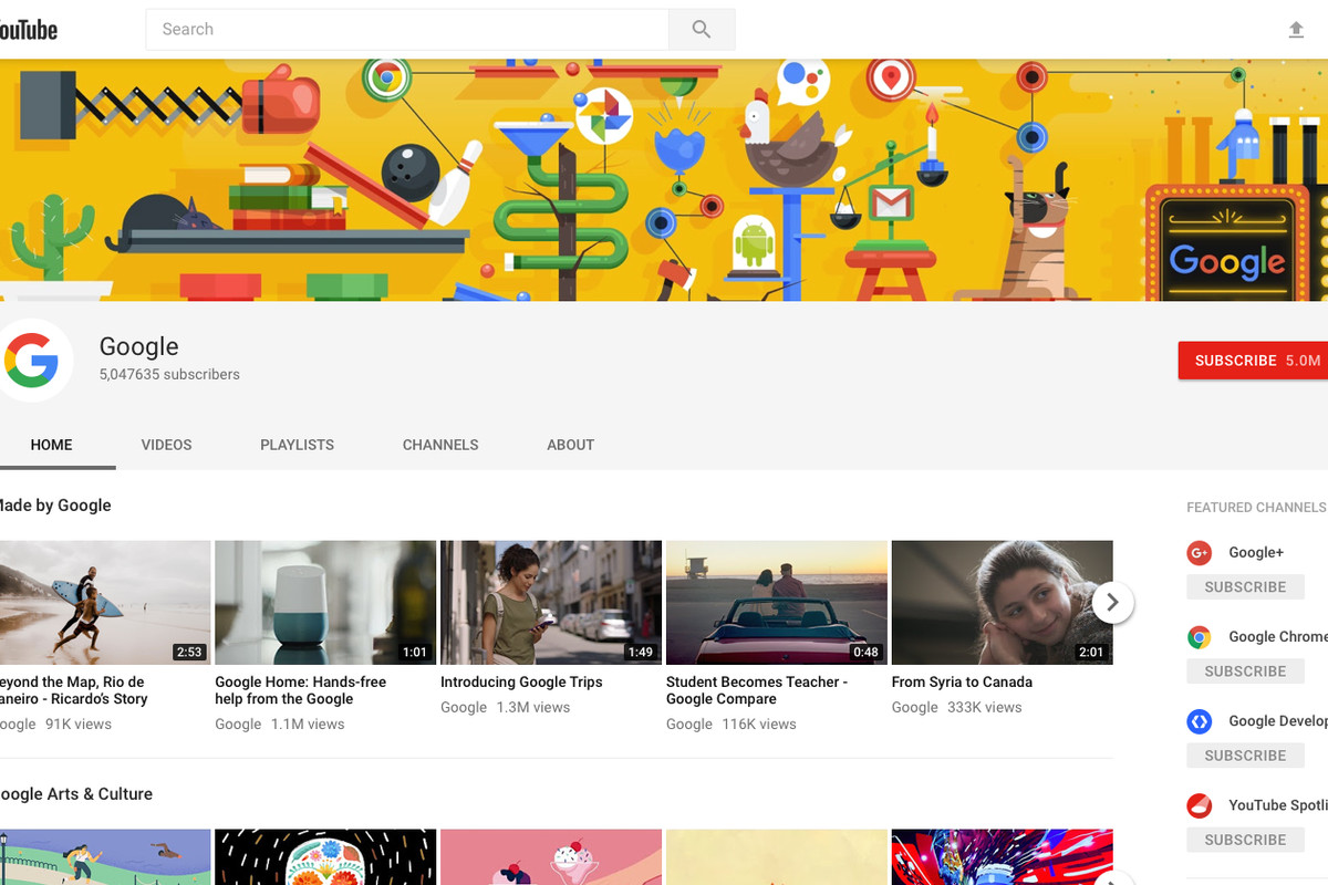 YouTube's new look finds a fit for your vertical videos