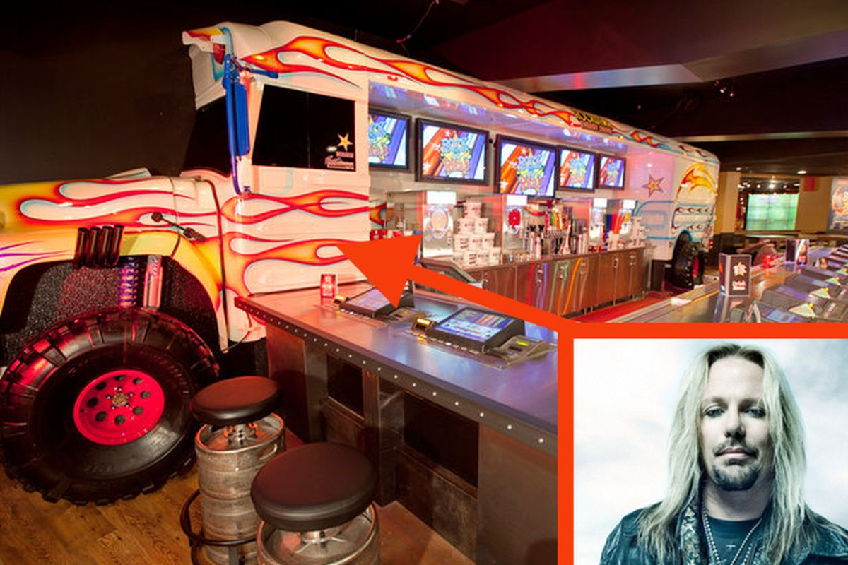 Vince Neil and Rock & Rita's