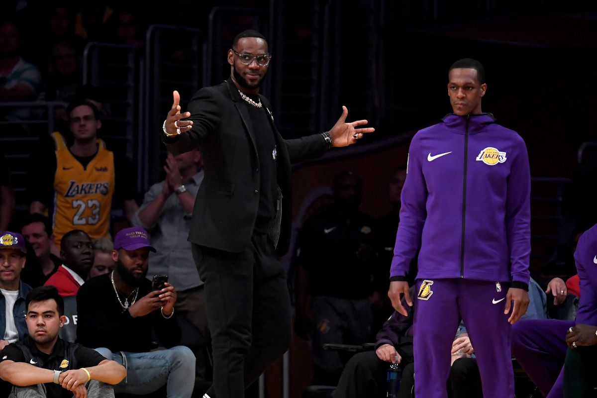 best website f801a 55595 LeBron James denies rift with Lakers front office in Instagram video   That  is not true