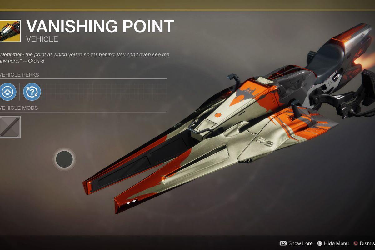 The Vanishing Point Sparrow.