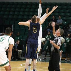 The opening tip off of the NCAA season.<br>