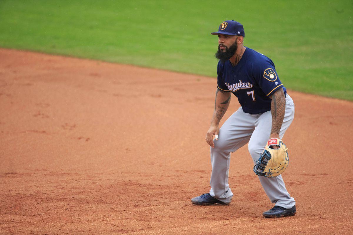MLB: Spring Training-Milwaukee Brewers at Texas Rangers