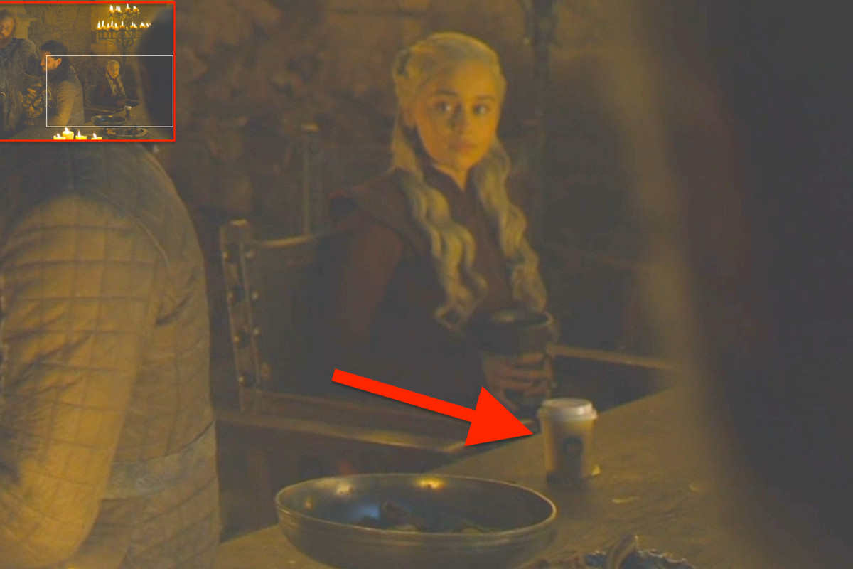 Starbucks cup in a game of thrones' scene - SME Consulting