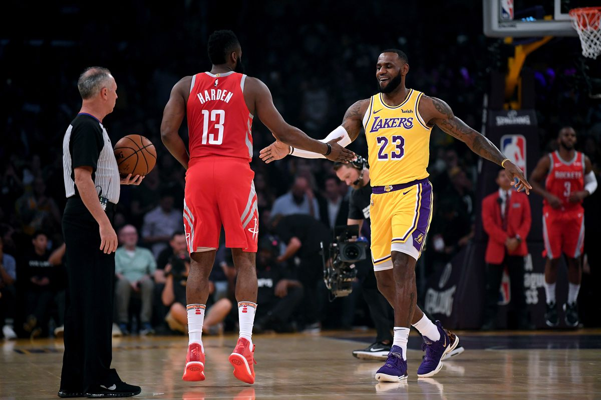 Game thread: Lakers vs. Rockets - The Dream Shake
