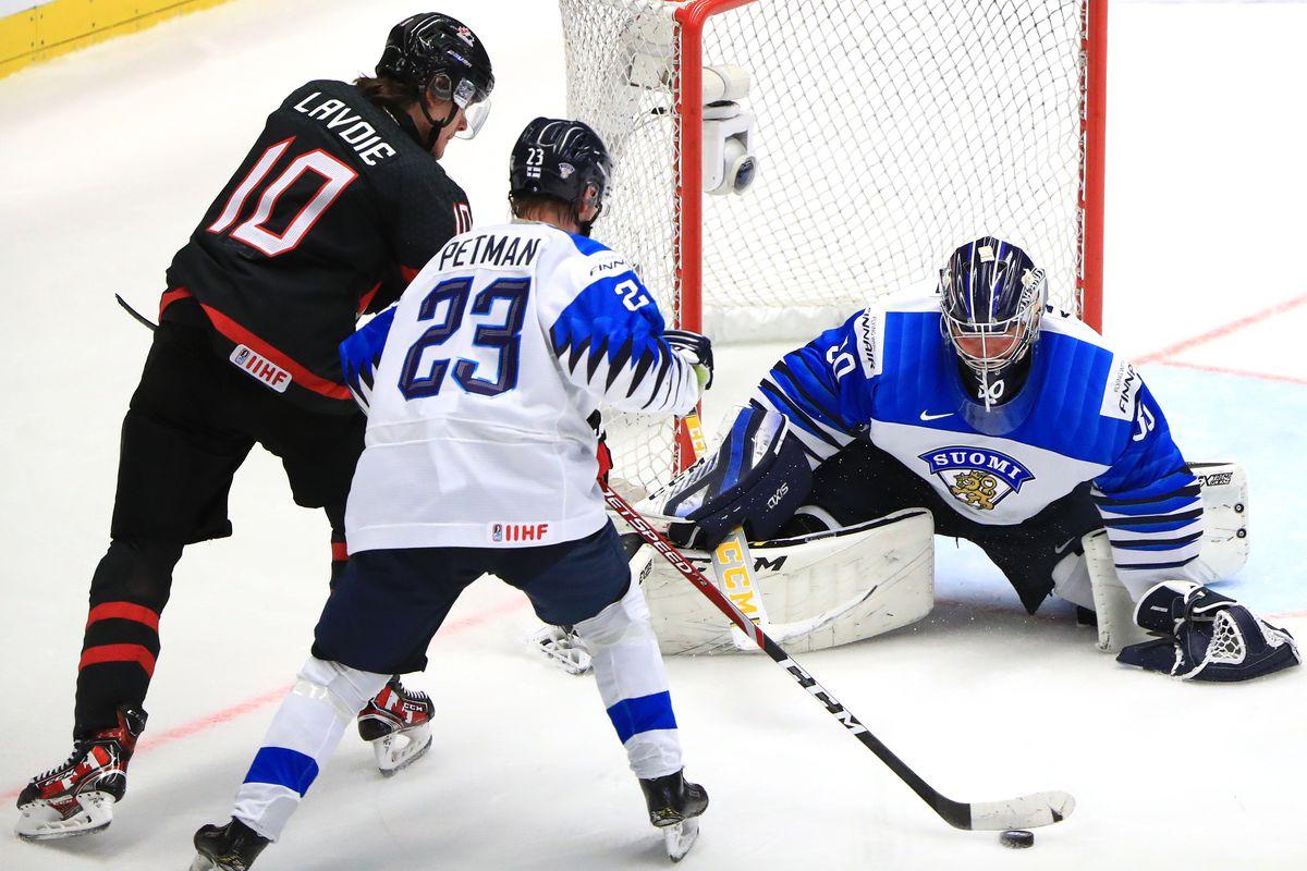 2020 World Junior Ice Hockey Championship, Semifinals: Canada 5 - 0 Finland