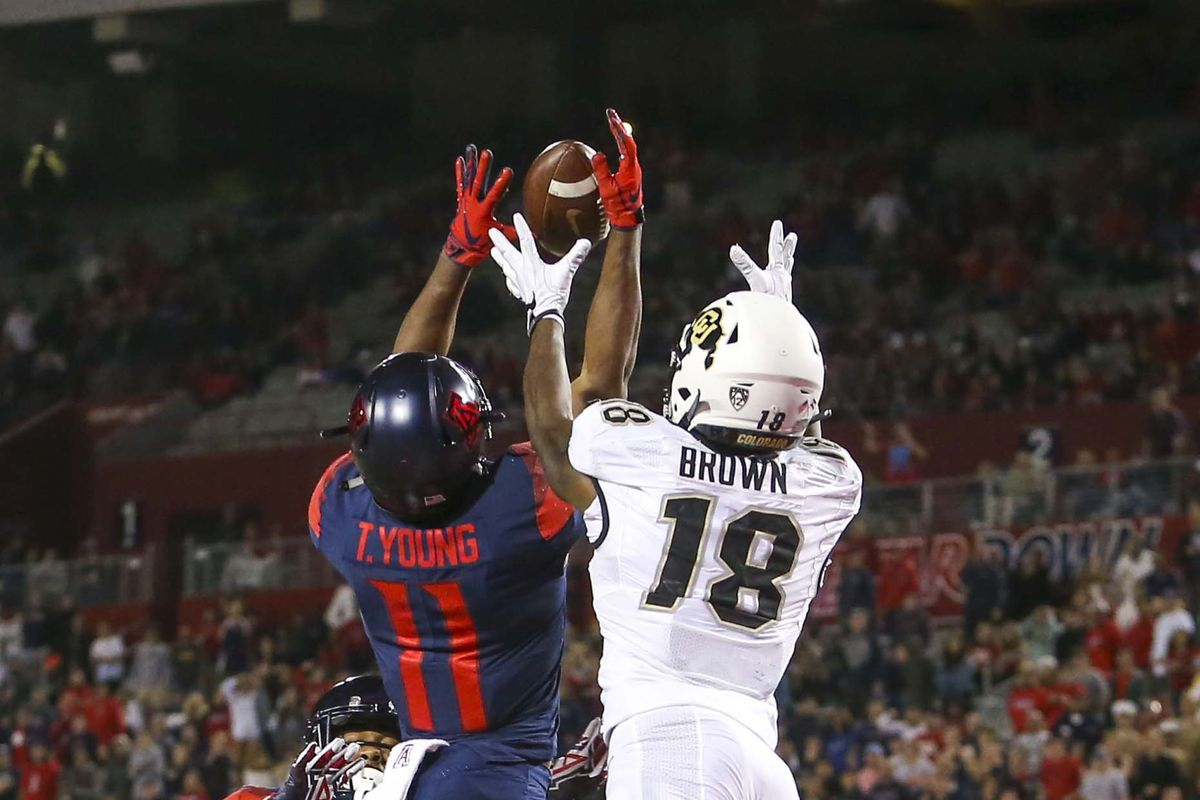detailed look ed854 fb031 Most Important Buffaloes: #20 Tony Brown - The Ralphie Report