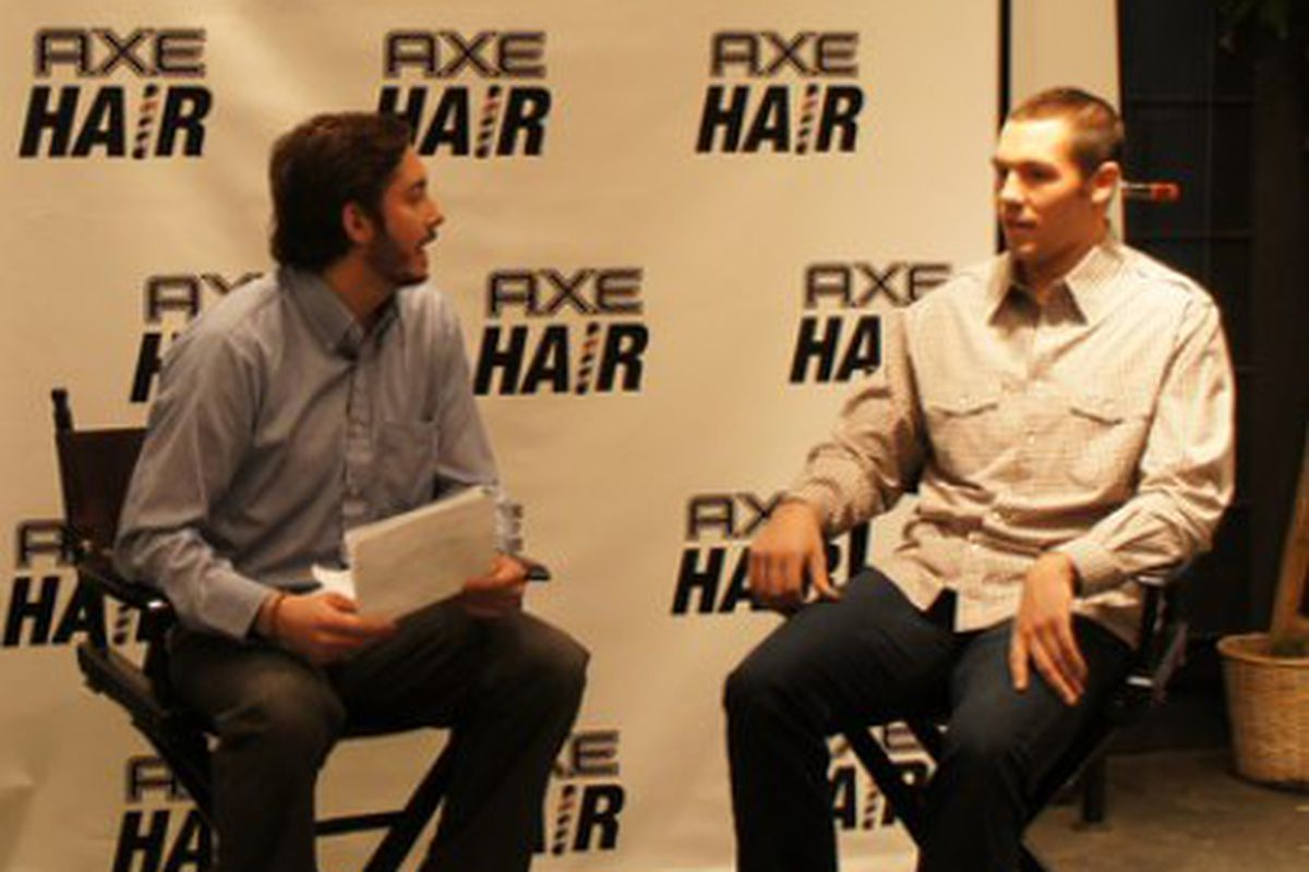 Sam Bradford talks with SB Nation on his new haircut, ping pong and all sorts of other crap.