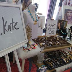 Jewelry and accessories from Mr. Kate.