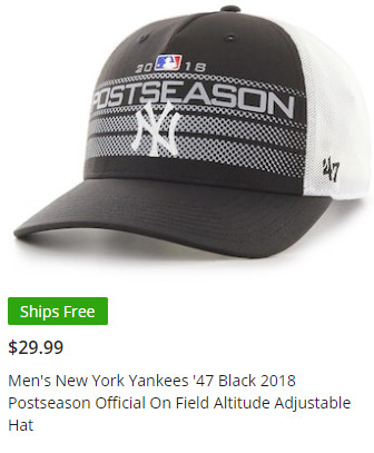 43815bdac6 The best and worst of the 2018 Yankees  playoff merchandise ...