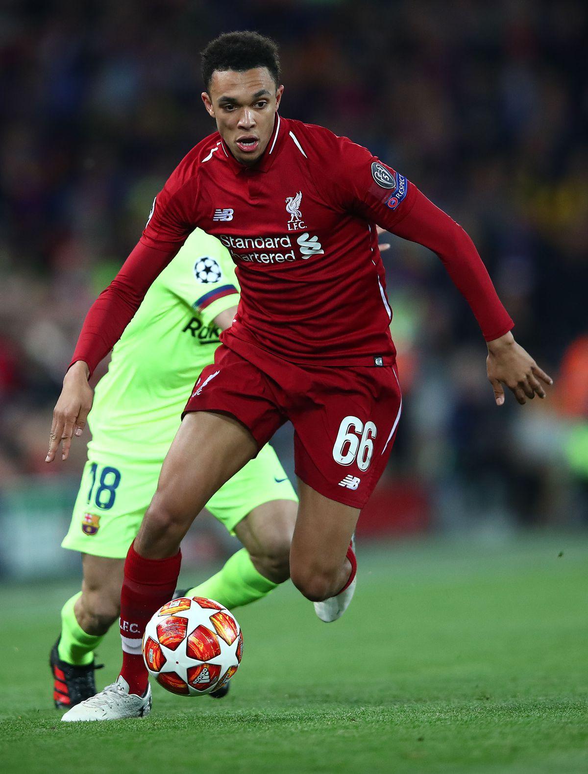Trent Alexander-Arnold - Liverpool FC - UEFA Champions League