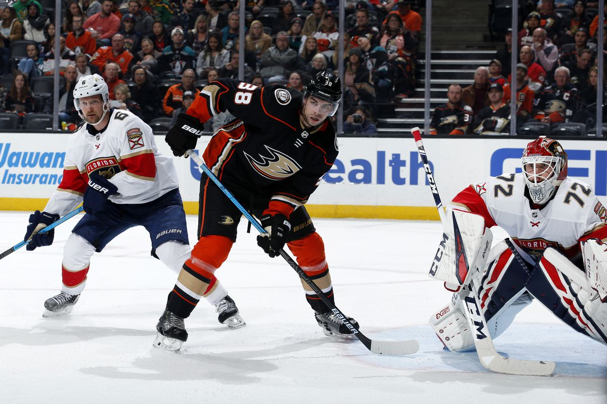 Florida Panthers v Anaheim Ducks