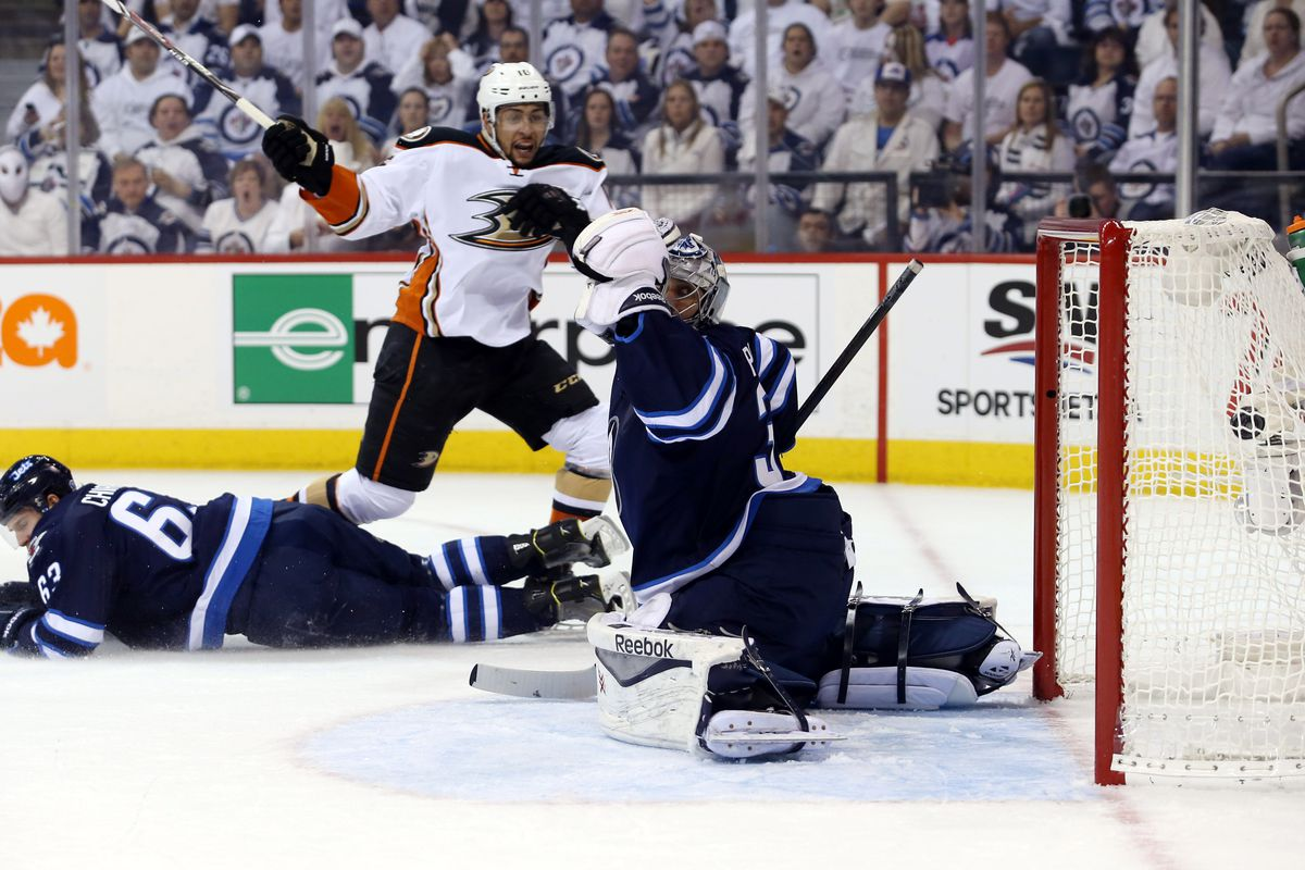 Emerson Etem scores the goal of the playoffs.