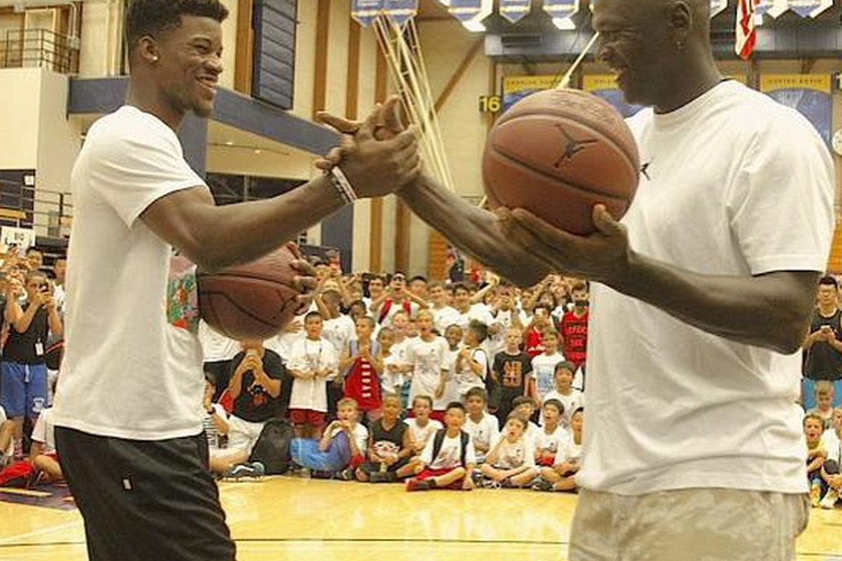 Jimmy Butler I Didn T Lose To Michael Jordan Chicago Chicago Sun Times