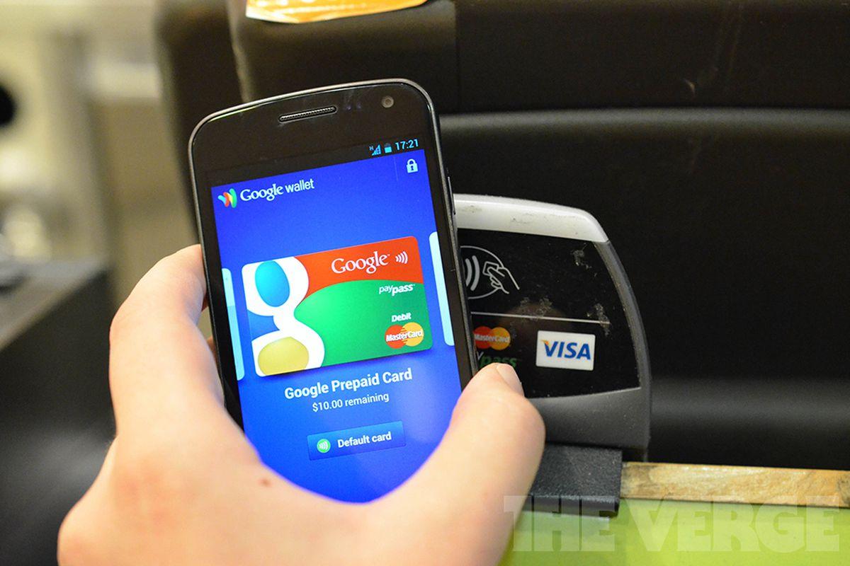 Google Wallet NFC contactless payment (1020)