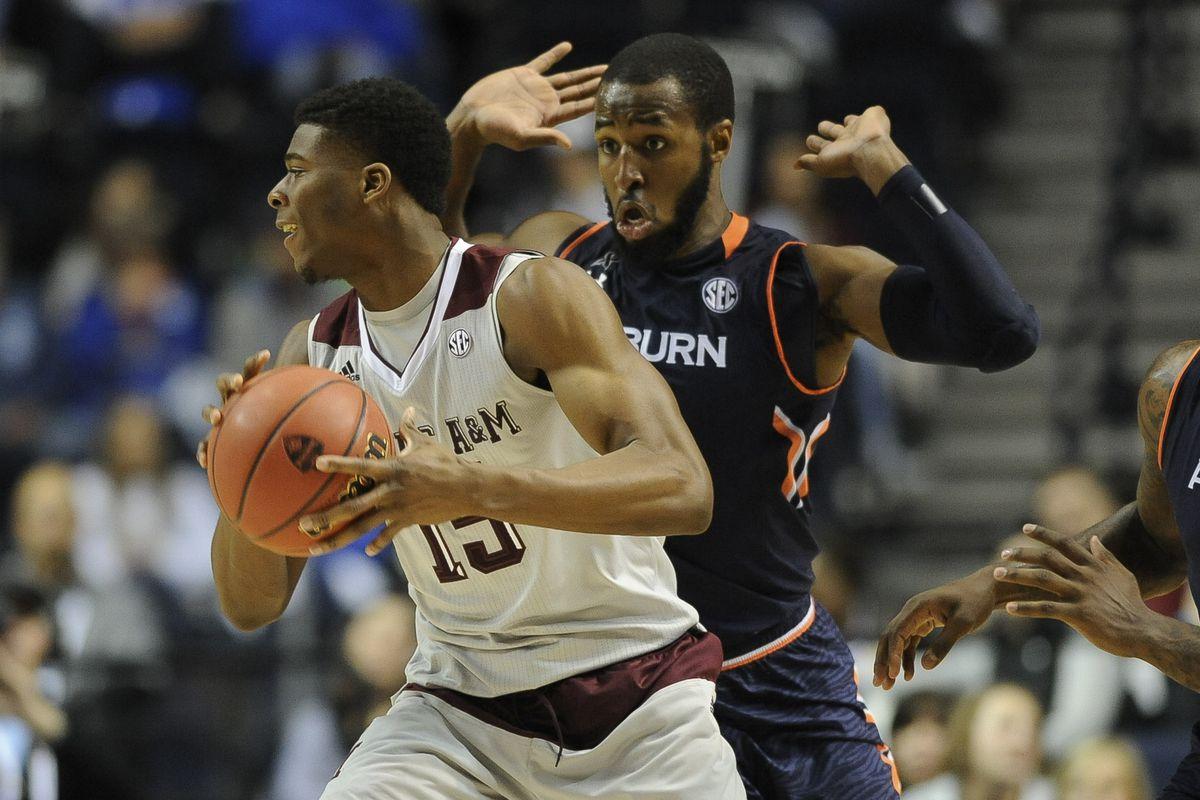 NCAA Basketball: SEC Conference Tournament-Auburn vs Texas A&M