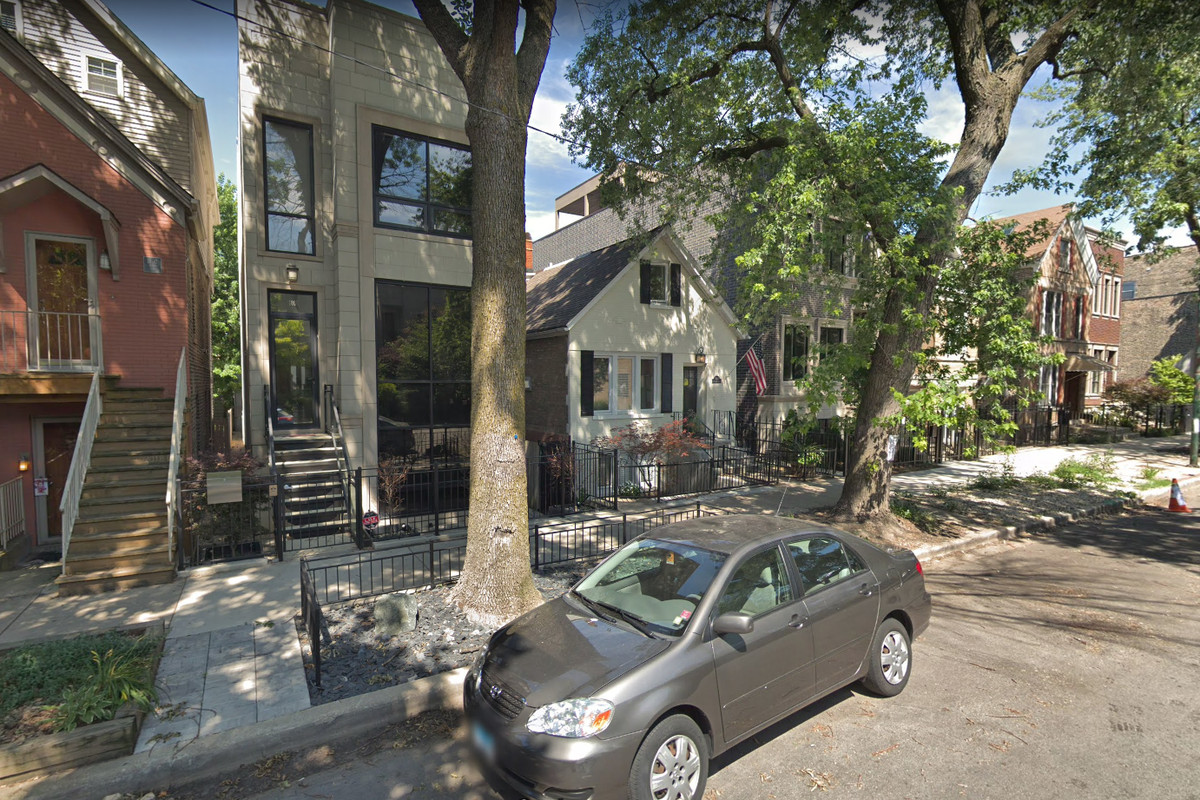 A home on North Wolcott Avenue was burglarized.