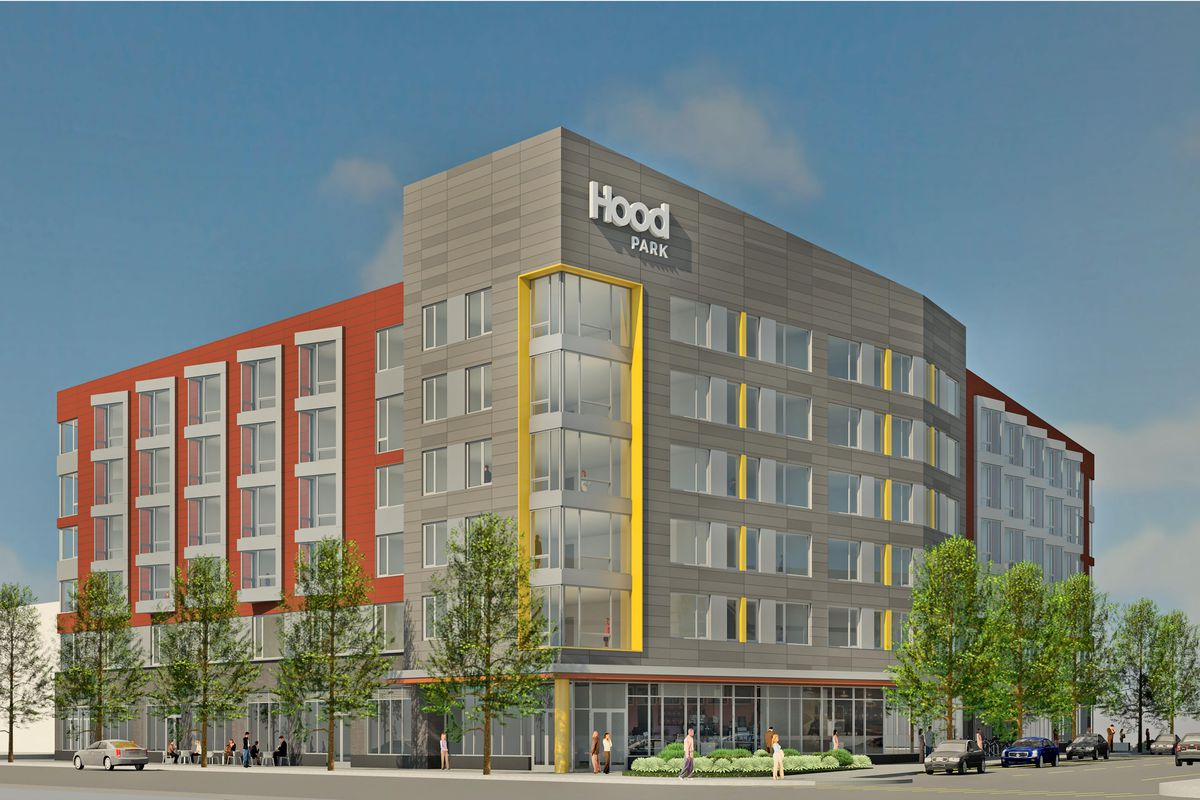 Hood Park S First Residential Component Officially