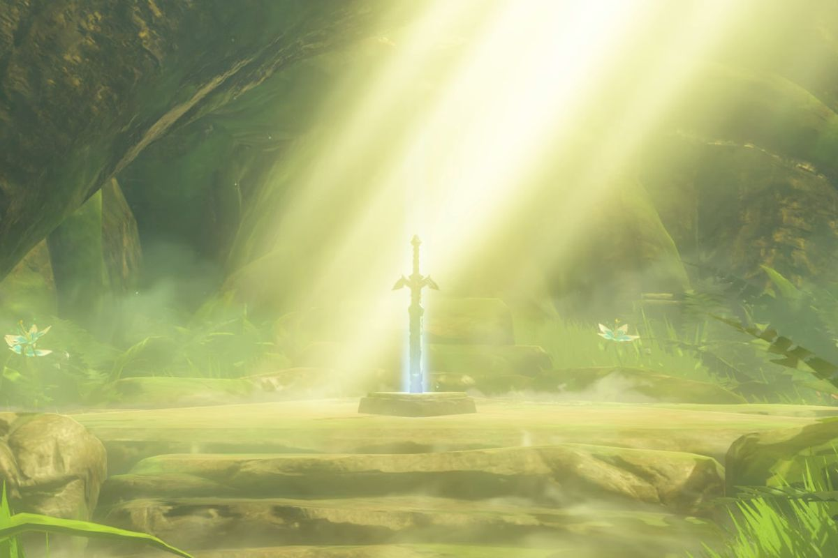 How To Get The Master Sword In Zelda Breath Of The Wild Polygon