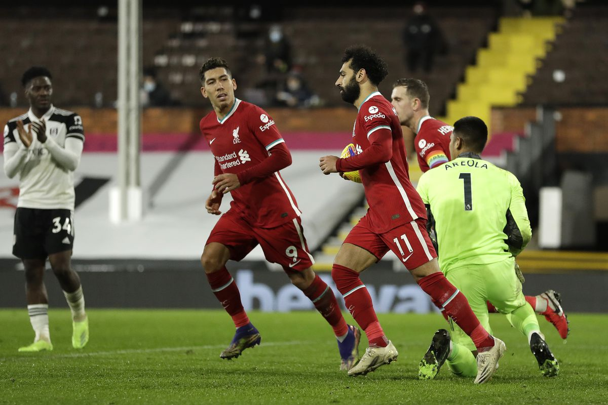 Liverpool 1 Fulham 1 Match Recap A Game To Forget The Liverpool Offside