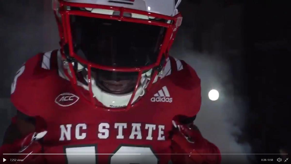 NC State reveals new football uniforms for 2018 season - Backing The ... b42b35db9