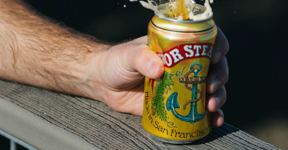 Sold in Bottles for 123 Years, Anchor Brewing Is Now Putting Its Beer in Cans