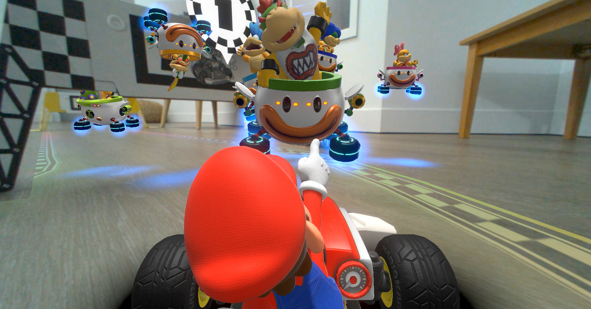 10 things we learned about Mario Kart Live: Home Circuit Nintendo's mixed reality racer – The Verge